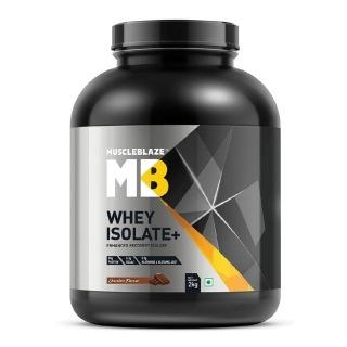 MuscleBlaze Whey Isolate +,  4.4 lb  Chocolate