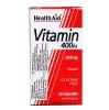 HealthAid Vitamin E (400 iu),  30 capsules