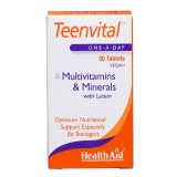 HealthAid Teenvital,  Unflavoured  30 Tablet(s)