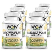 WOW Garcinia Plant Extract Pack of 6,  90 veggie capsule(s)