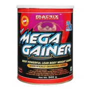 Matrix Nutrition Super Mega Gainer,  1.1 lb  Chocolate