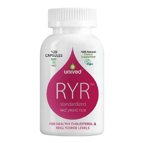 Unived Red Yeast Rice Cholesterol,  120 capsules