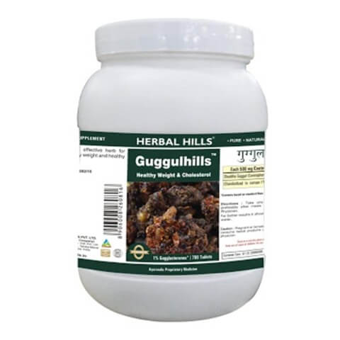 Herbal Hills Guggul Hills Value Pack,  700 capsules