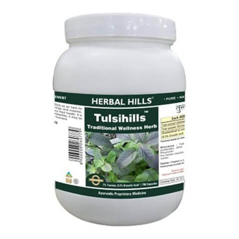 Herbal Hills Tulsihills Value Pack,  700 capsules
