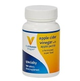 The Vitamin Shoppe Apple Cider Vinegar With Apple Pectin,  100 tablet(s)  Unflavoured