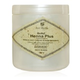 Just Herbs Herbal Henna Plus,  Hibiscus, Neem Nutgrass & Indian Goosberry  200 G
