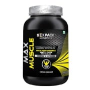 Six Pack Nutrition Max Muscle,  2.2 lb  Choco Delight