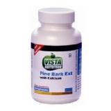 Vista Nutrition Pine Bark Ext With Calcium,  120 Capsules