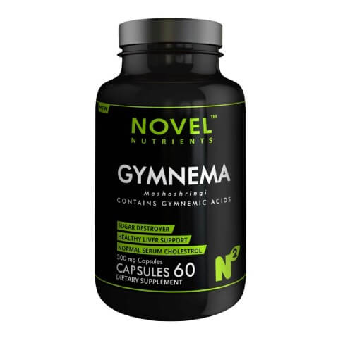 Novel Nutrients Gymnema (500mg),  60 capsules
