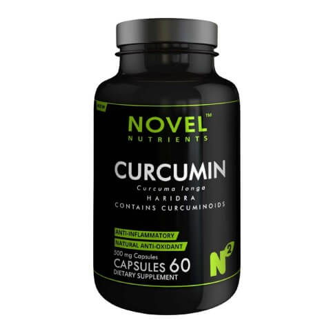 Novel Nutrients Curcumin (500mg),  60 capsules