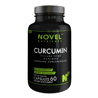 Novel Nutrients Curcumin (500mg),  60 capsules