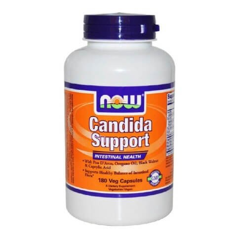 Now Candida Support,  180 veggie capsule(s)