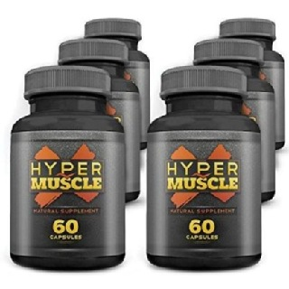 WOW Hyper Muscle X (Pack of 6),  360 capsules  Unflavoured