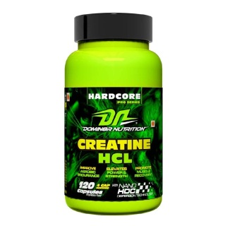 Domin8r Nutrition Creatine HCL,  Unflavoured  120 capsules