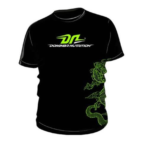 Domin8r Nutrition T-Shirt,  1 Piece(s)/Pack  Black