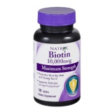 Natrol Biotin (10,000 Mcg) Pack Of 4,  Unflavoured  100 Tablet(s)