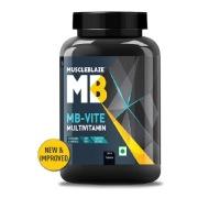 MuscleBlaze MB-VITE Multivitamin for Immunity-100% RDA of Vit C, D, Zinc,  120 tablet(s)  Unflavoured