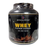 British Nutritions Whey Platinum Standard,  4.4 lb  Chocolate