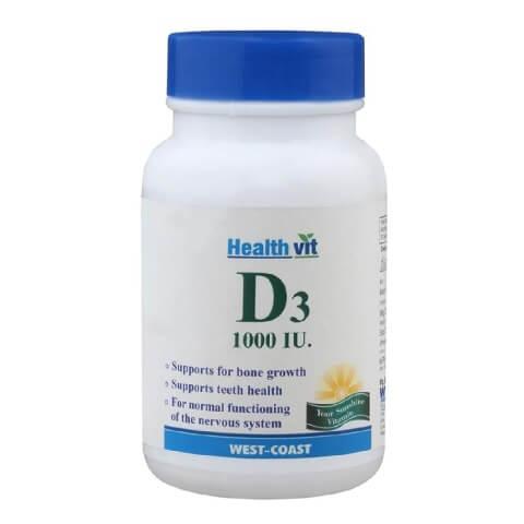 Healthvit VITAMIN D3 1000 IU,  30 tablet(s)
