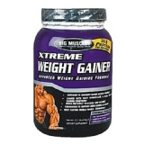 Big Muscle Xtreme Weight Gainer,  Strawberry  2.2 Lb