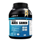 Gen-X Premium Mass Gainer,  Vanilla  4.4 Lb