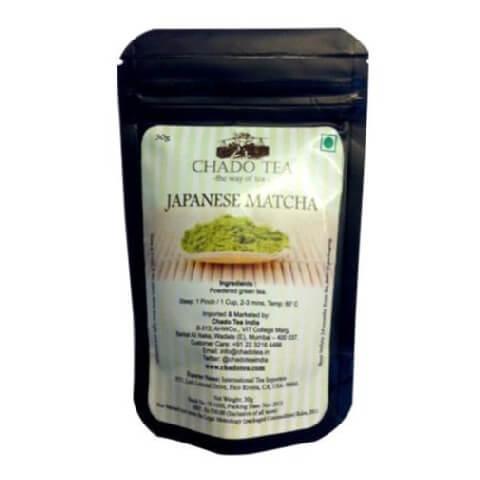 Chado Tea Japanese Matcha Tea in Can,  30 g  Natural