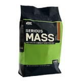 ON (Optimum Nutrition) Serious Mass,  Chocolate Peanut Butter  12 Lb