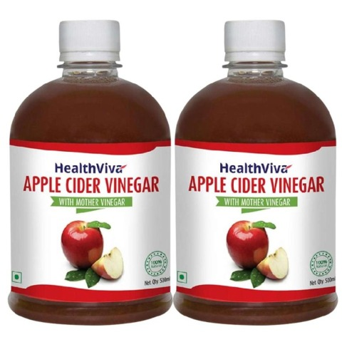 HealthViva Apple Cider Vinegar - Pack of 2