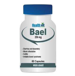 Healthvit Bael 250 Mg,  60 capsules