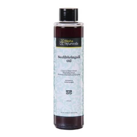 Bipha Neelibhringadi Oil,  175 ml  Prevents Hairfall & Greying
