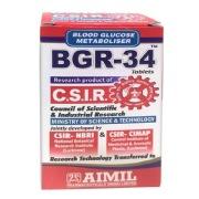 Aimil BGR-34,  100 tablet(s)