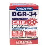 Aimil BGR-34,  Unflavoured  100 tablet(s)