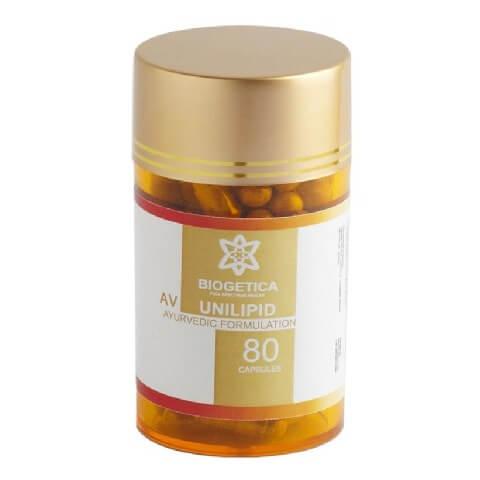 Biogetica AV Unilipid,  80 capsules