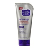 Clean & Clear Advantage Oil Absorbing Cream Cleanser,  141 G  Oil-Free