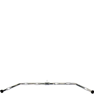 B Fit USA Solid Pro-Grip Lat Bar 48 Inches (GH7142),  Silver