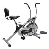 KS Healthcare Air Bike Platinum DX with Back Support & Twister