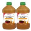 St.Botanica Apple Cider Vinegar with Honey (Pack of 2),  0.500 L  Unflavoured