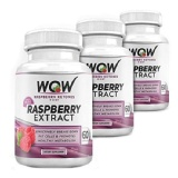 WOW Raspberry Ketones Plus Diet (Pack Of 3),  60 Capsules