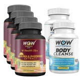 WOW Garcinia & Raspberry Extract + Body Cleanse,  6 Piece(s)/Pack