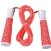 KOBO Skipping Rope With Soft Handle (JR-4),  Red & White  Free Size