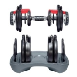 Universal Fitness Adjustable Dumbbell,  Black  24 Kg