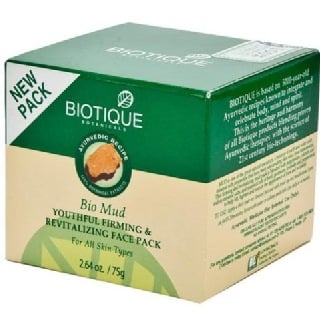 Biotique Bio Mud Youthful Firming & Revitalizing Face Pack,  75 ml  All Skin Types