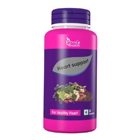 Good Health Heart Support,  60 capsules