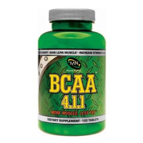 Muscle Nutriton BCAA 4.1.1,  120 tablet(s)  Unflavoured