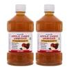 Healthvit Apple Cider Vinegar (Pack of 2),  0.5 L  Unflavoured