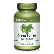 HealthViva Pure Herbs Green Coffee Extract,  60 capsules