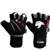 KOBO Gym Gloves (WTG-08),  Black & Grey  Small