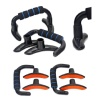 KOBO S Shape Push Bar Fitness Imported (PU-5),  Black & Blue  Free Size