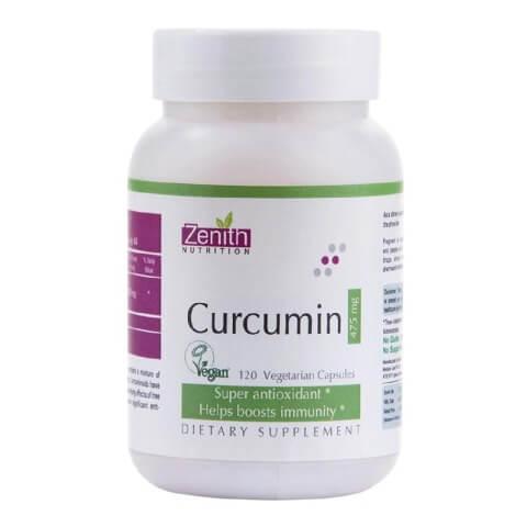 Zenith Nutrition Curcumin,  120 capsules