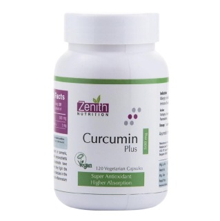 Zenith Nutrition Curcumin Plus (500 mg),  120 capsules